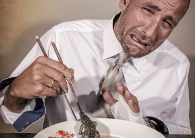 man muss nicht alles essen